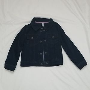 Carter's Toddler Girl 4t Denim Blue Jacket